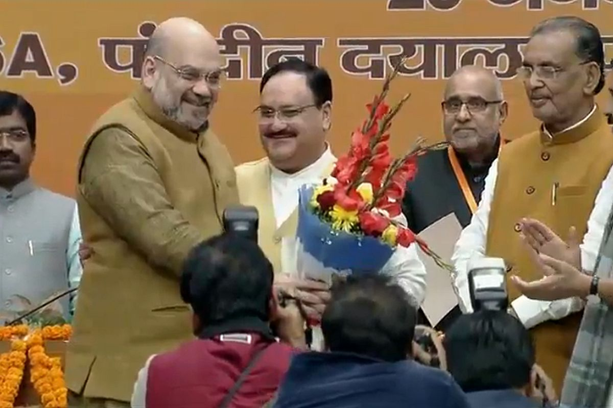 Passing the baton, Bharatiya Janata Party, Jagat Prakash Nadda, Amit Shah