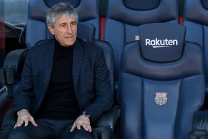 Barca boss Setien says team needs more time before return to action