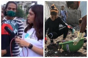 'Change starts with me,' says Bhumi Pednekar as she takes part in save planet drive