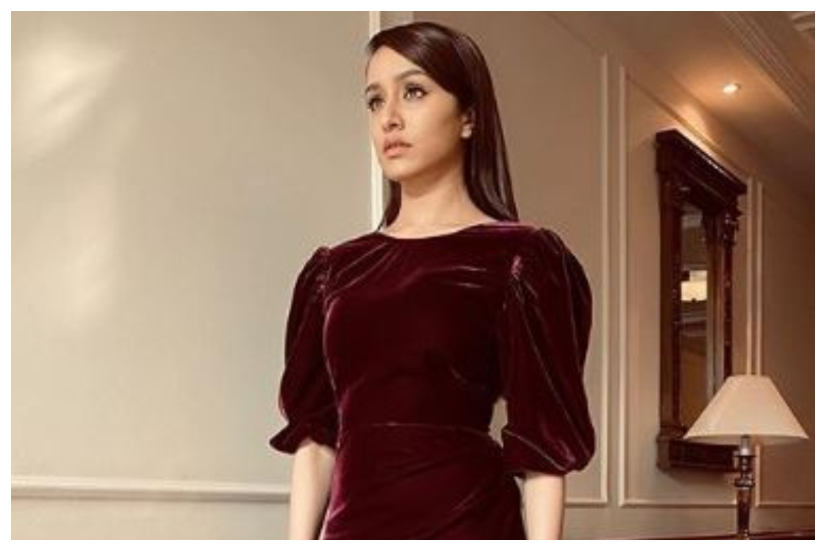 Shraddha Kapoor's velvet dress is new winter fashion; see pics