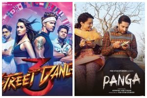 Varun Dhawan's Street Dancer 3D and Kangana Ranaut's Panga full movie leaked online by TamilRockers