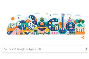 Google doodle celebrates India's 71st Republic Day