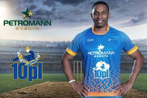 Dwayne Bravo announced face of 10PL tennis ball cricket tournament