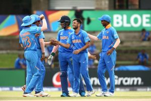Rohit Sharma wishes India U19s luck for their ongoing World Cup campaign