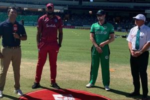 Paul Stirling helps Ireland pip West Indies by 4 runs in 1st T20I