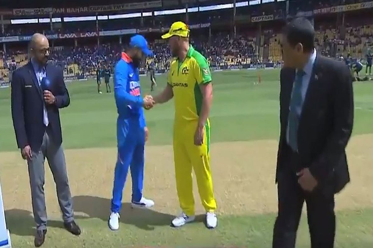 IND vs AUS, 3rd ODI: Aaron Finch opts to bat first, Hazlewood in for Richardson