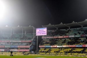Guwahati T20I called off due to wet patches on pitch