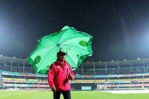 Rain delays start of India-Sri Lanka T20I in Guwahati