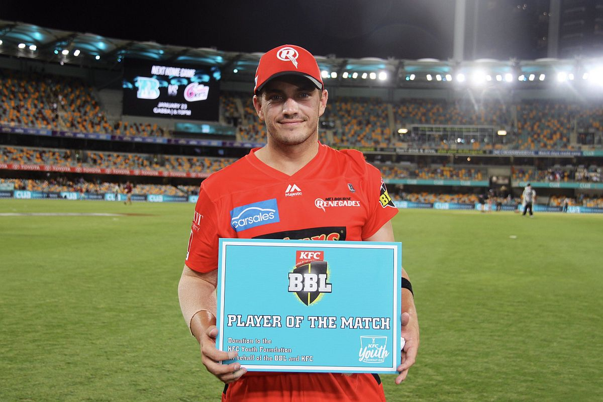 BBL 2019-20: Brisbane Heat lose last 10 wickets for 36 runs in a dramatic collapse to hand Renegades a 44-run win