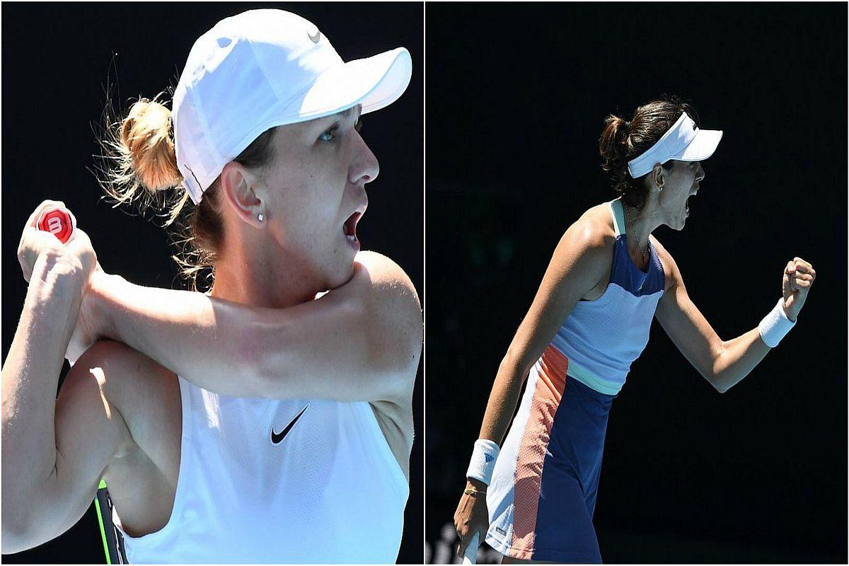 Simona Halep, Australian Open, Garbine Muguruza, Anett Kontaveit, Anastasia Pavlyuchenkova, Australian Open 2020