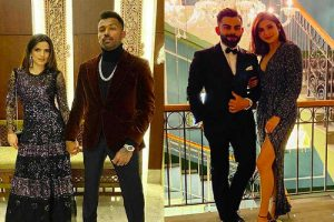 SEE | Virat Kohli, MS Dhoni, Hardik Pandya and Umesh Yadav among other cricketers welcome new year with their partners