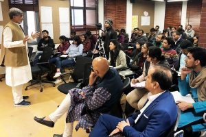Nobel Laureate Kailash Satyarthi holds interaction session with ISPP scholars