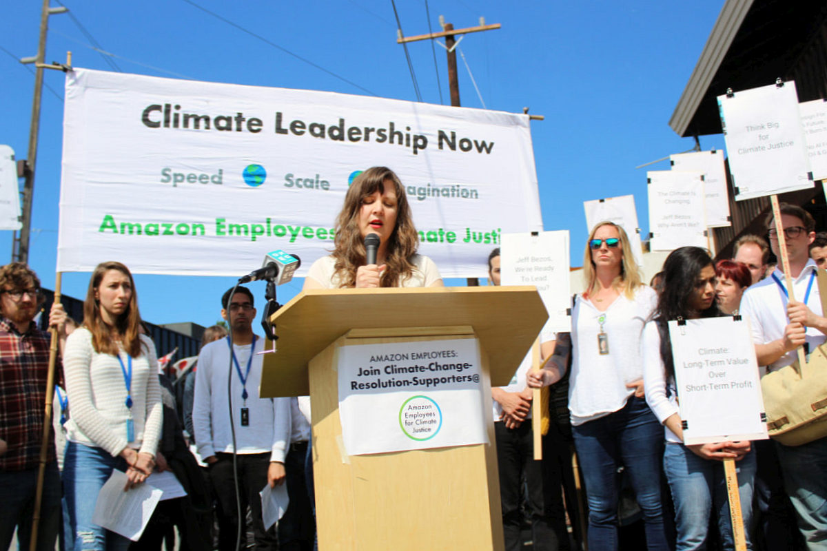 Amazon Employees, Climate Change