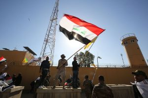 Day after Iran missile strikes, 2 rockets hit Iraq's Green Zone housing US mission