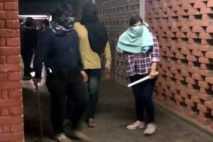 Masked woman in JNU violence video suspected to be Delhi University student: Police