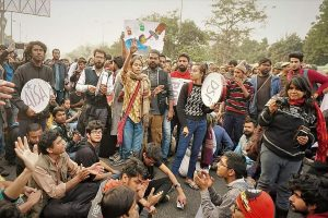 JNU V-C behaving like a 'mobster who perpetuates violence': Students' union