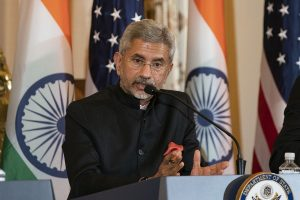 At Russia-India-China trilateral meet Jaishankar calls for 'respecting international law'