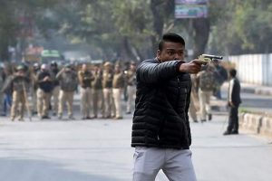 Man fires at CAA protesters near Jamia varsity, says 'here's your freedom'; student hurt