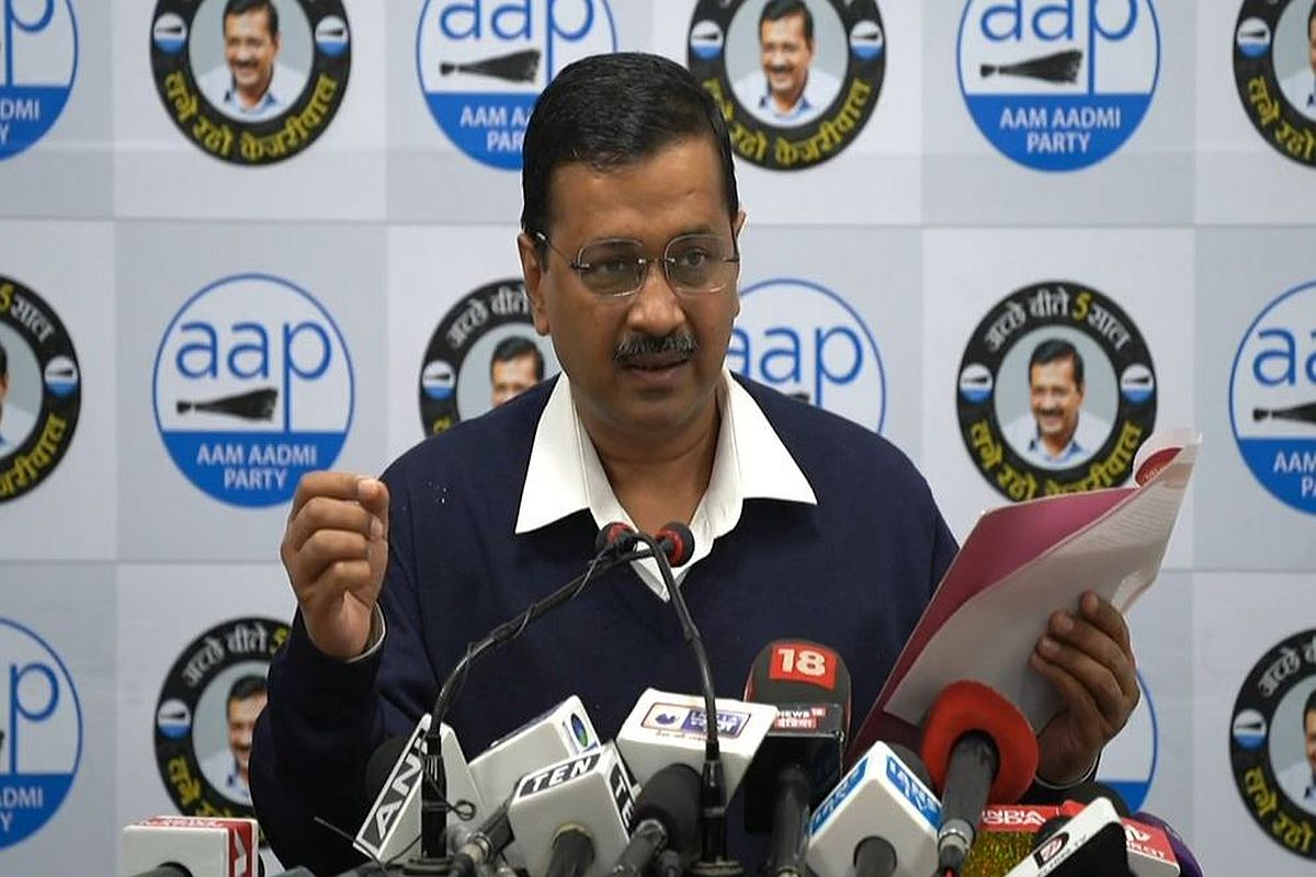 AAP releases 'guarantee card' for Delhi Assembly polls, CM Kejriwal promises 24-hr drinking water, clean environment