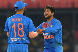 IND vs AUS, 1st ODI: Kuldeep Yadav one wicket away from bringing up century of wickets
