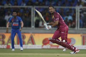 Lendl Simmons blasts 10 sixes as Windies rout Ireland to level T20 series