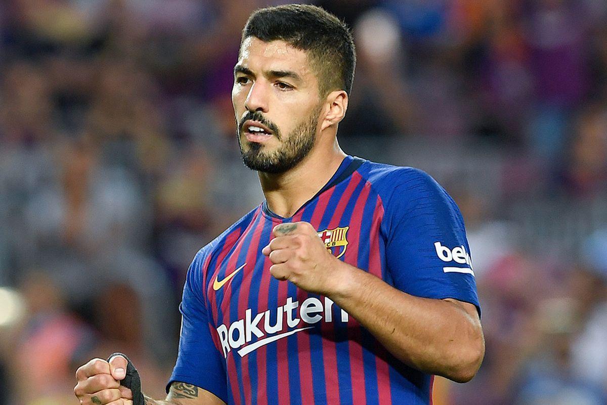 34-år gammel 181 cm høy Luis Suárez i 2021