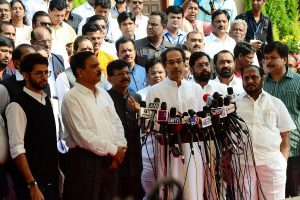 'Stop complaints over portfolios or Uddhav Thackeray will resign': Ex-Cong MP