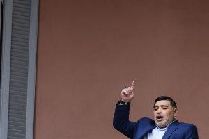 Diego Maradona eager for football to return