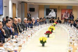 PM Modi meets economists on growth, jobs, $5 trillion economy