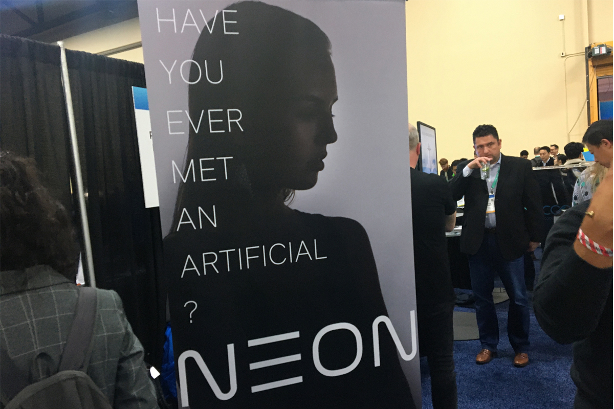 NEON Artificial Human.