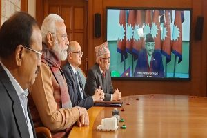 PM Modi, Nepal counterpart Oli jointly inaugurate check post at Jogbani-Biratnagar via video link