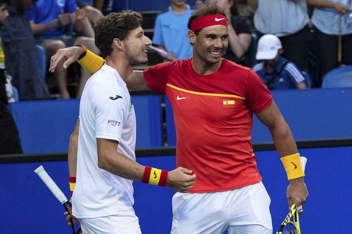 Rafael Nadal, Nishioka, ATP Cup, Spain, Davis Cup