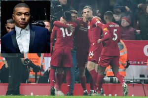Liverpool are amazing, feels PSG striker Kylian Mbappe