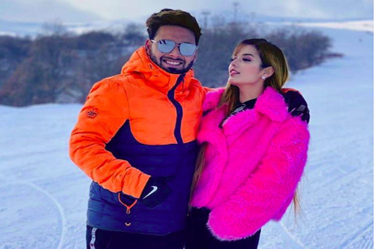 Rishabh Pant Enjoys New Year Break With Girlfriend Isha Negi
