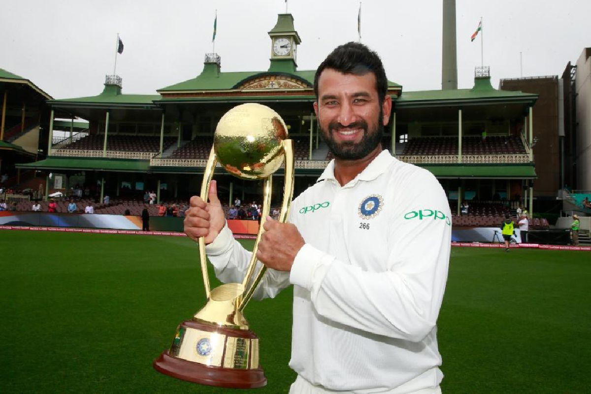 Happy Birthday to 'India's New Wall'- Cheteshwar Pujara