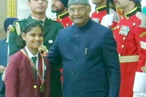 Himachal girl gets national award for bravery