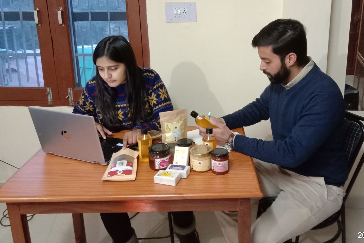 Self start-up by Shimla professionals to push hill products