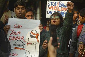 Jadavpur University, Presidency students show solidarity with JNU