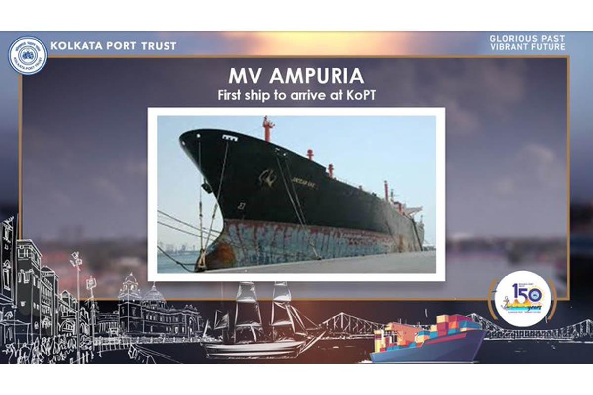 Maritime history, Kolkata Port Trust, Kidderpore Dock Complex, Hooghly River, Bhagirathi River