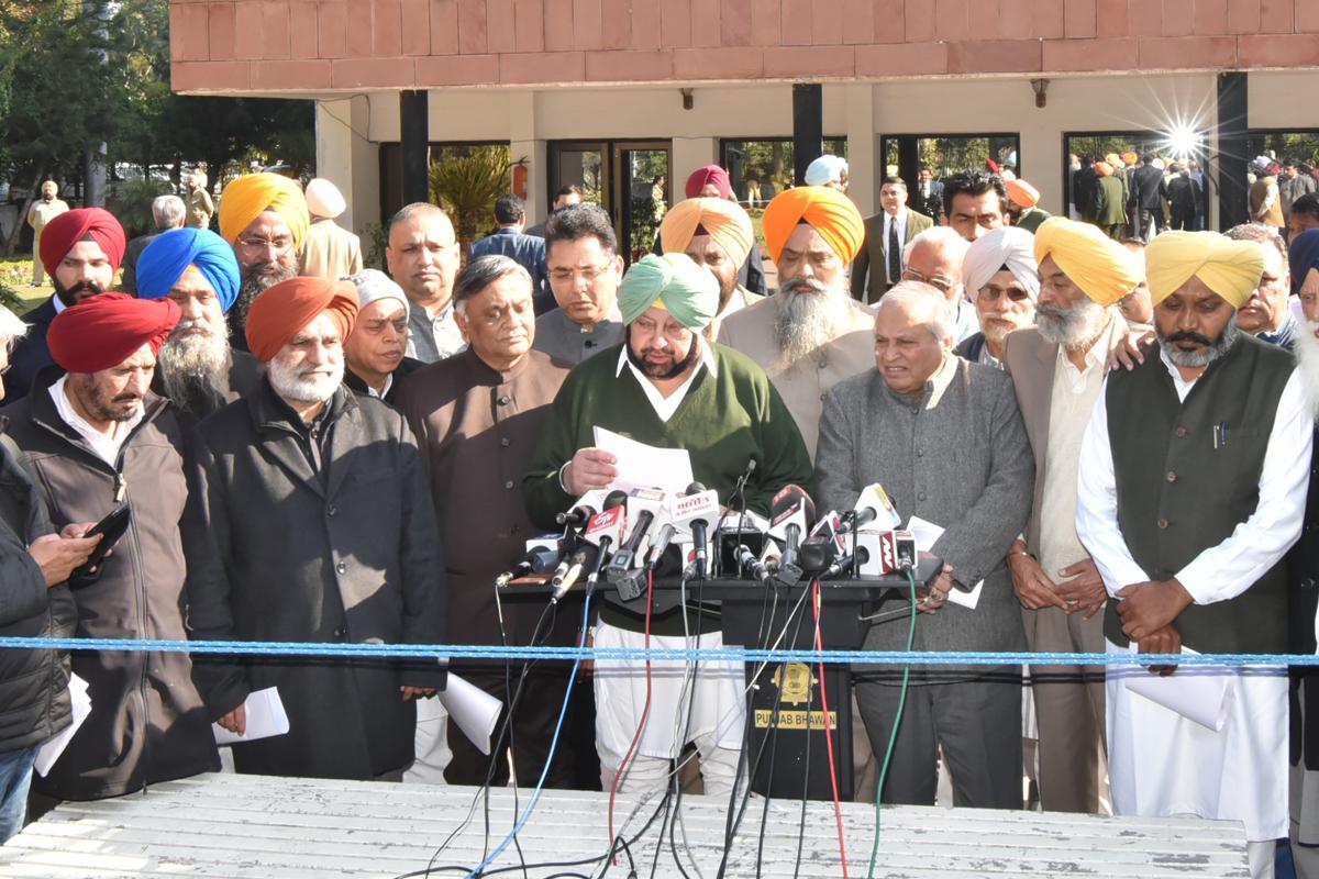 Punjab, Chandigarh, Amarinder Singh, Shiromani Akali Dal, Aam Aadmi Party