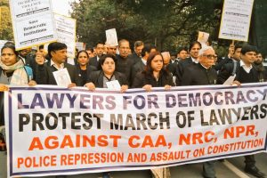 Supreme Court lawyers hit streets against CAA-NRC