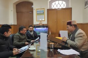SJPNL asked to resolve the matter of water bills in Shimla