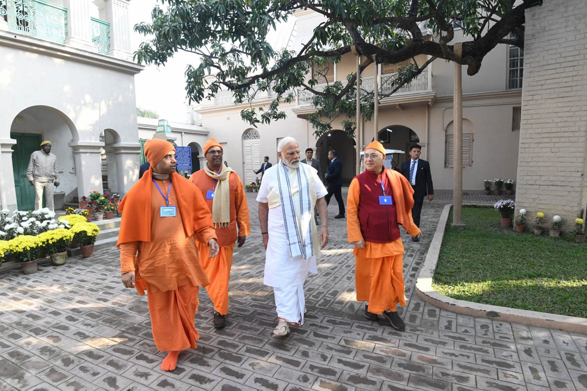 Belur, Kolkata, Narendra Modi, Belur Math, CAA, Mamata Banerjee, BJP, West Bengal, Bengal, NRC, NPR