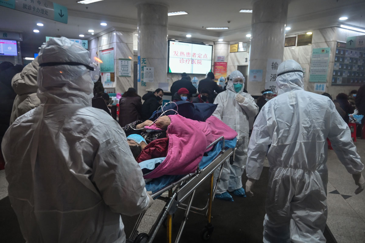 Bihar girl admitted to hospital with suspected coronavirus