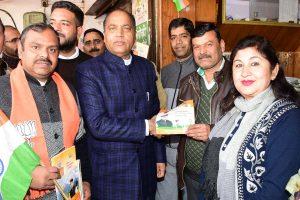 Jai Ram starts door to door campaign on CAA in Himachal