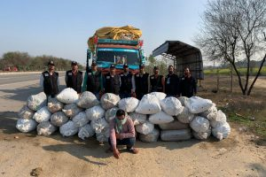 1000 kg Ganja worth Rs1.25 Cr seized, one held