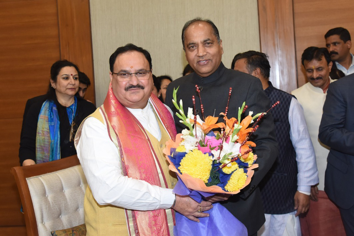 Nadda first leader from HP to head national political party