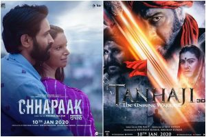 Box Office Collection Day 2: Tanhaji: The Unsung Warrior shines at box office, leaves Chhapaak far behind