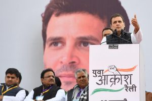Rahul Gandhi at 'Yuva Aakrosh Rally' challenges PM Modi to visit any University, address students' query