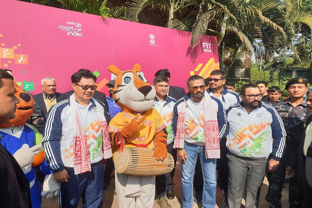 Kiren Rijiju, NADA, Suniel Shetty, Khelo India Youth Games, National Anti-Doping Agency